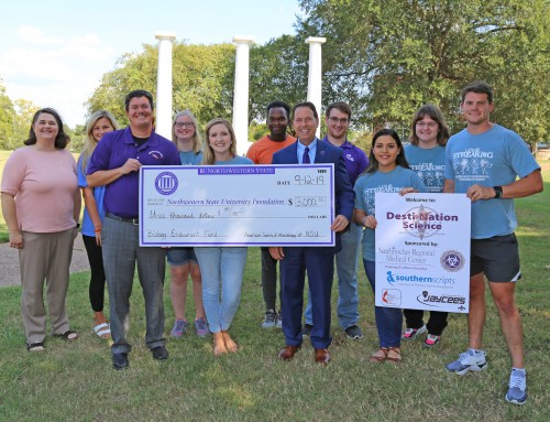 ASM donates Destination Science Camp proceeds to develop research opportunities