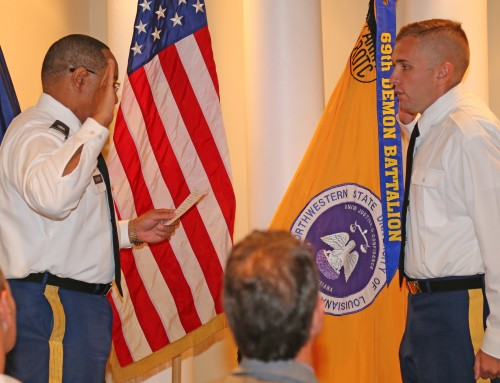 Barnes commissioned as Second Lieutenant