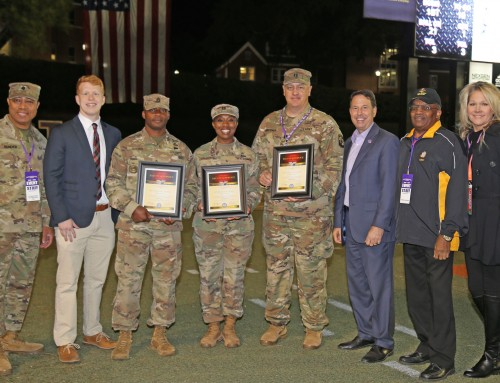 Honorary Captains recognized Nov. 9