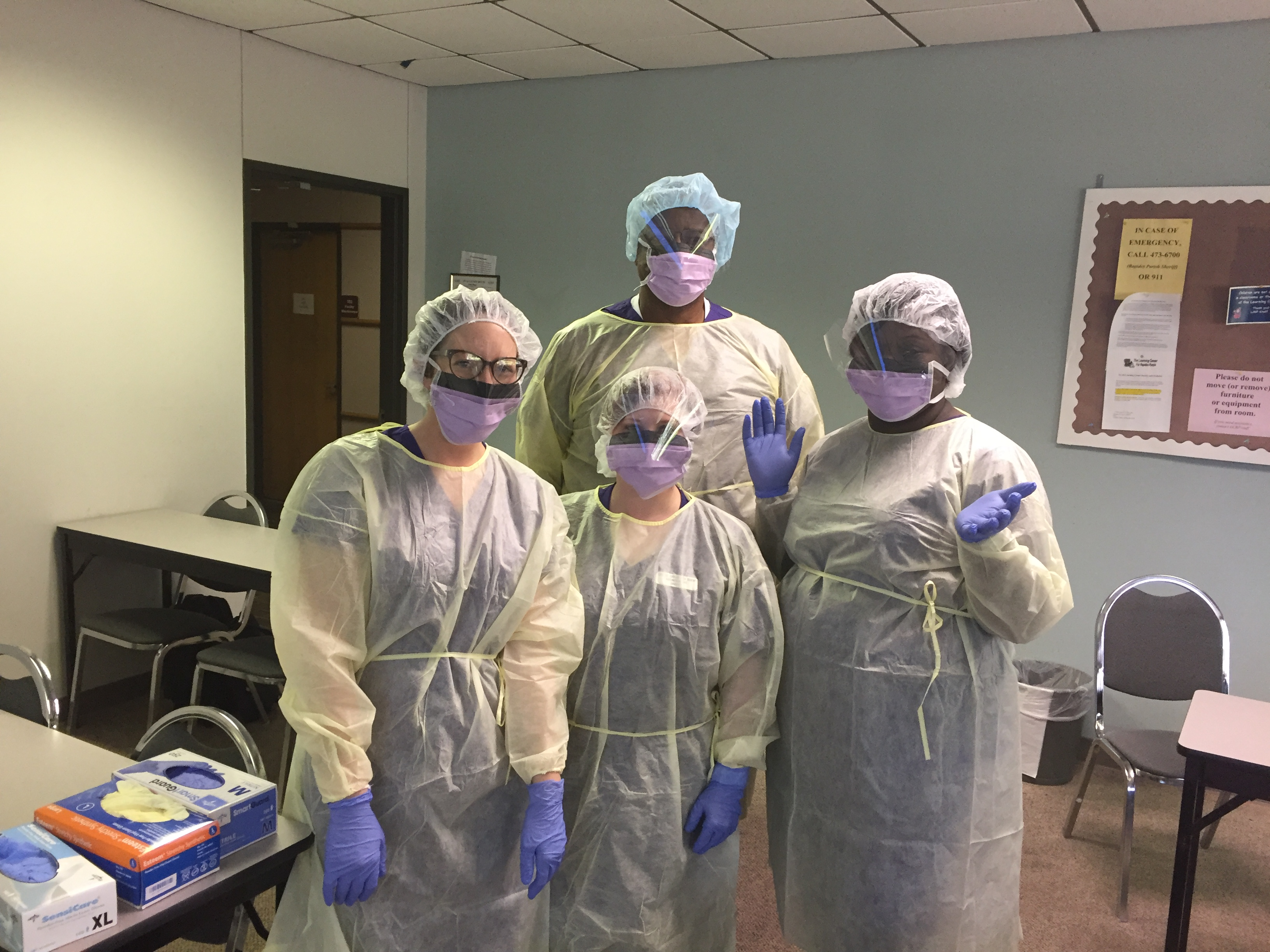 Asn students at the cenla campus northwestern state for Northwestern virtual tour