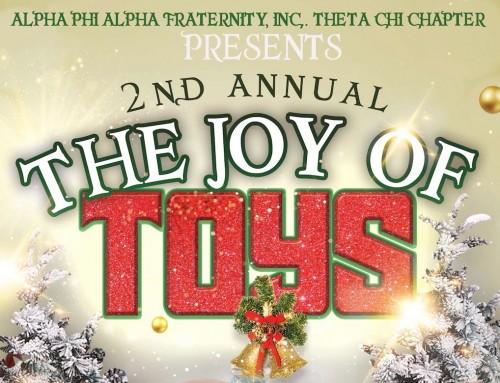 Alpha Phi Alpha toy drive will benefit CASA children