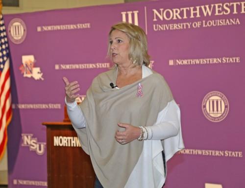 Gold Star Mom Karen Vaughn delivers powerful Veterans Day message